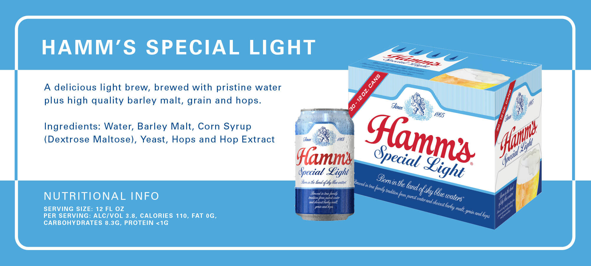 Hamm's Beer Light